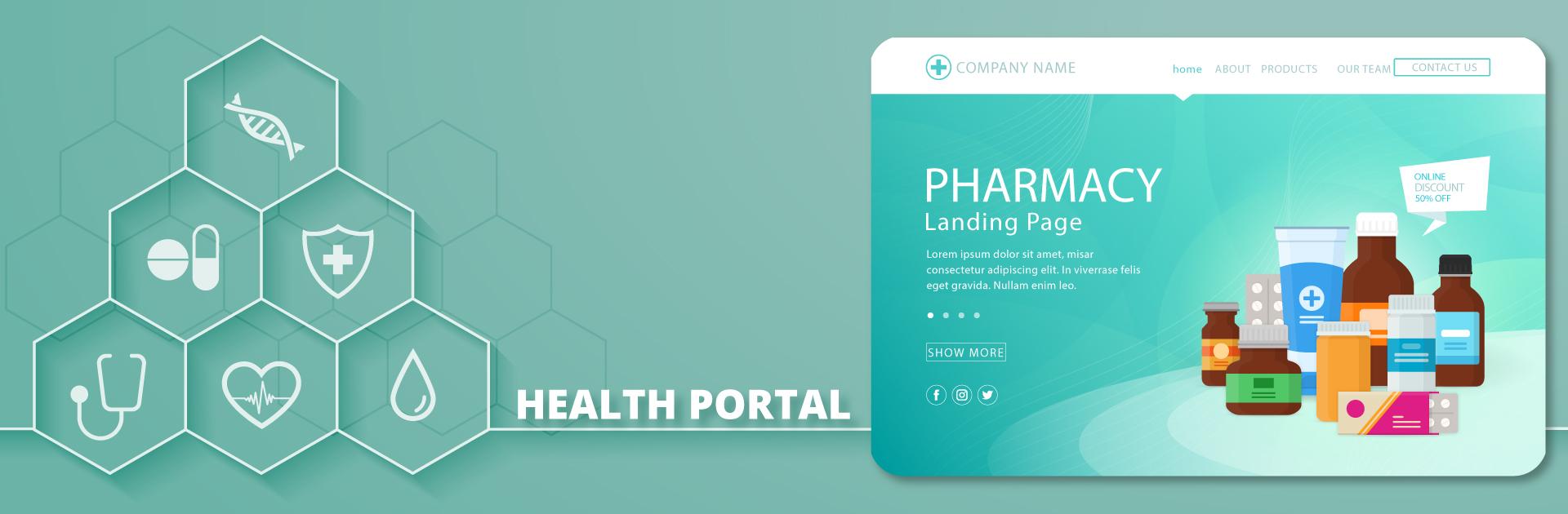 Health Portal Development Company In India