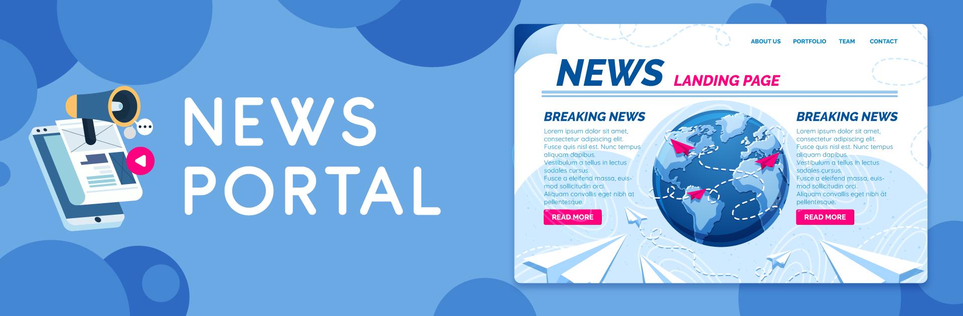 News Portal Development Company In India